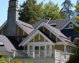 Residential Roof Replacement - left-right view